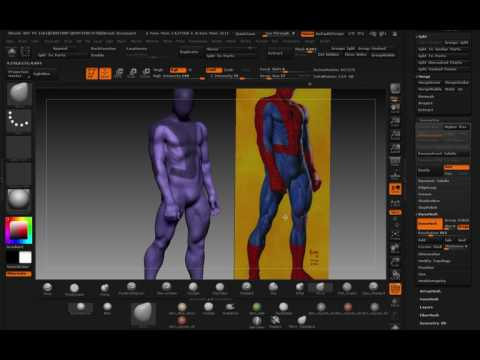 SCULPTING JOE JUSKO'S SPIDERMAN:  PART 5