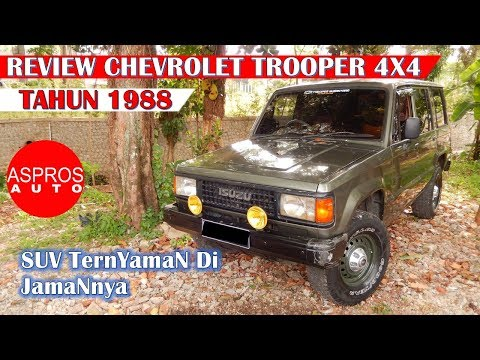 REVIEW JIP AMERIKA : CHEVROLET TROOPER 2.3L LONG TAHUN 1988 By ASPROS AUTO