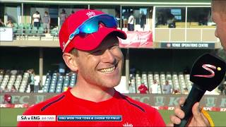 SA v England T20 Series | 1st T20 | Toss with Shaun Pollock and the two captains