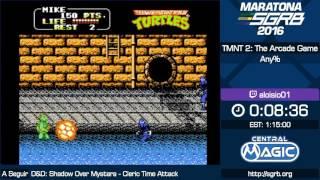 TMNT2: The Arcade Game any% por Aloisio - Maratona Online SGRB 2016