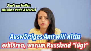 Gegenseitige Lügenvorwürfe: Deutsches & russisches Außenministerium im Verbalduell