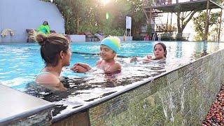 family trip to dream catcher plantation resort ag vlogs ep16 amrutha suresh abhirami suresh