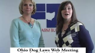 Ohio Dog Laws Web Meeting Oct. 2