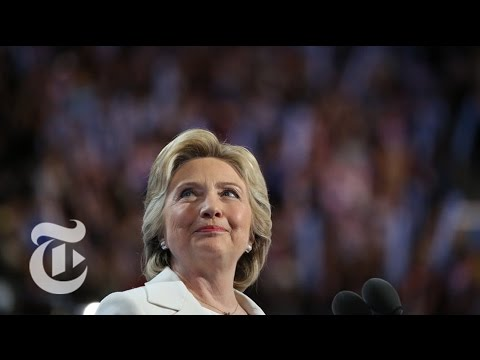 Hillary Clinton Seeks Faith of Voters | Democratic Convention | The New York Times