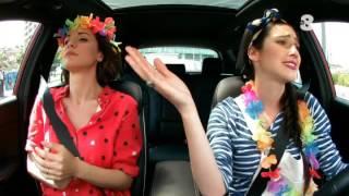 Singing in the car | Lodovica Comello e Andrea Delogu |