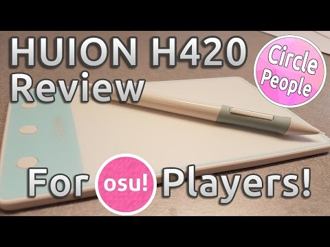 HUION H420 Tablet Review | Review for osu! Players
