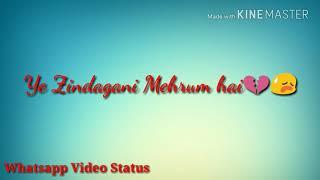 Mana Ki Teri Maujudgi se | Ae Dil Hai Mushkil | Whatsapp Video status