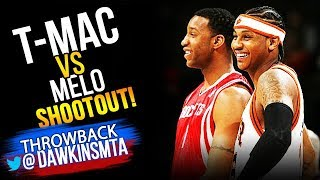 Tracy McGrady vs Carmelo Anthony Scorers Duel 2007.03.02 - T-Mac with 28 Pts, Melo With 30 Pts!