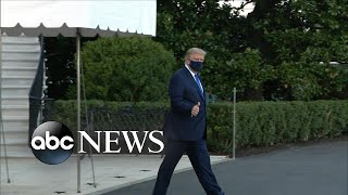 President Trump hospitalized due to COVID-19