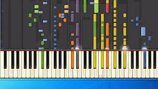 [Piano Tutorial Synthesia]Cliff Richard - Dreaming (mh)