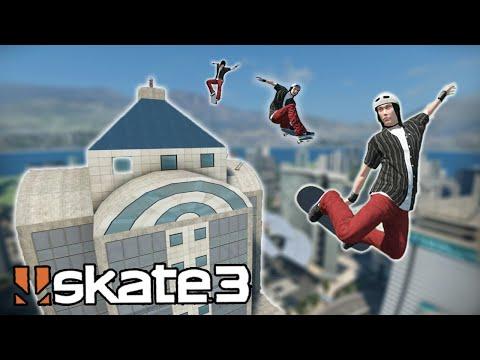HIGHEST BUILDING IN SKATE 3?! | Epic Challenges
