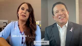 Karla Sofía, antes Carlos Gascón, revela cómo vive como mujer trans...