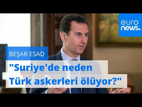 Beşar Esad Rus televizyonuna konuştu: