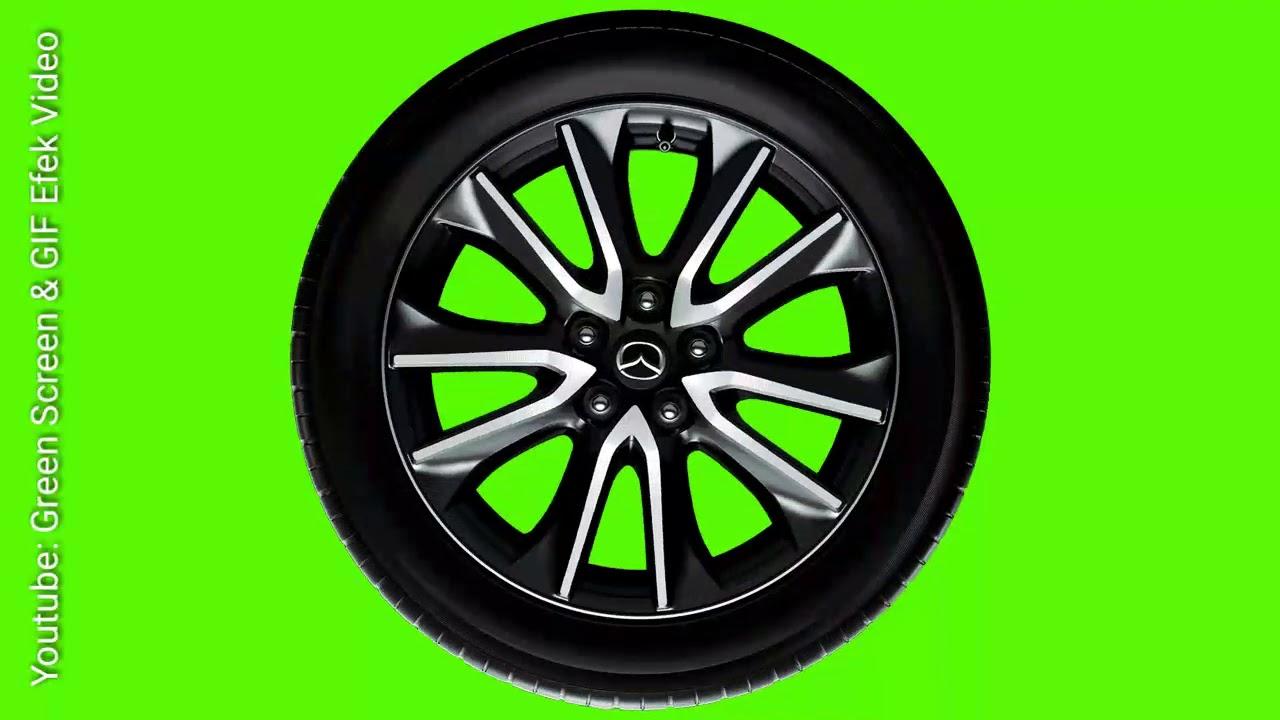Greenscreen Gif Roda Mobil Youtube