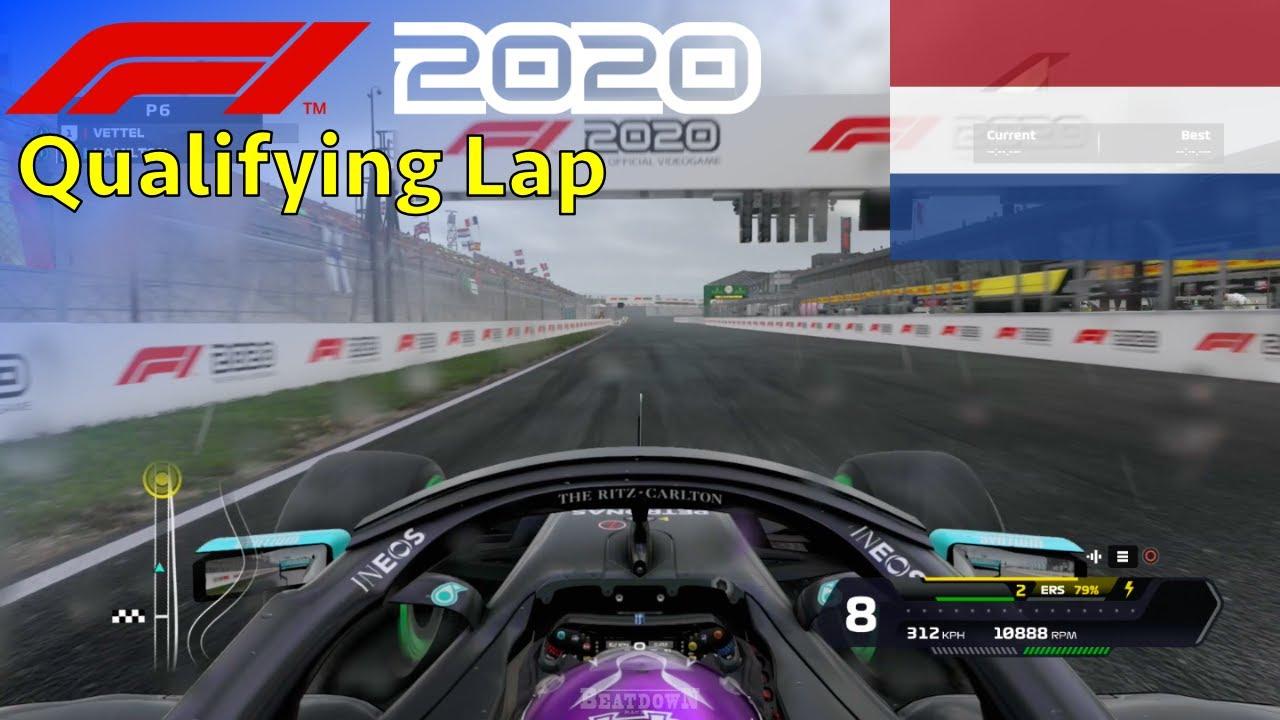 F1 2020 - Let's Make Hamilton 7x World Champion: Zandvoort Qualifying Lap