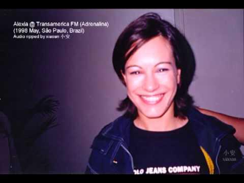 Alexia @ Transamerica FM (Interview 1998 May)