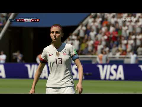 FIFA 19 – The Finals USA vs Netherlands 2019 Women's World Cup France – Full Match