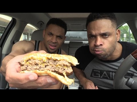 Eating McDonalds Double Quarter Pounder® with Cheese Fiasco
