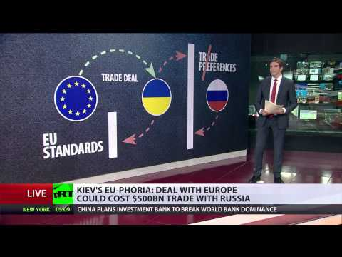 Done Deal? Ukraine signs trade agreement with EU