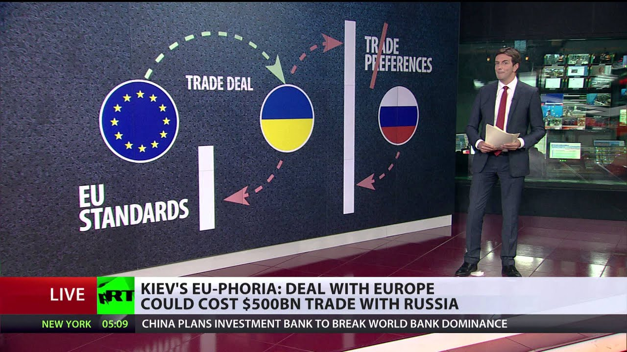 Done Deal Ukraine Signs Trade Agreement With Eu Youtube