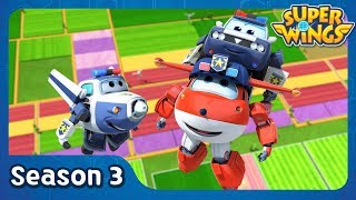 The Case of the Lost Suitcase | super wings season 3 | EP05