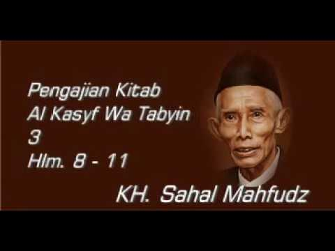 Mbah Sahal - Al Kasyf Wa Tabyin 3 - Hlm. 8 - 11