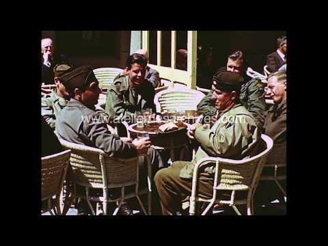 1945 Robert Capa in Netherlands