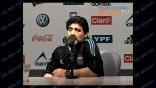 Argentina and Diego Maradona dreaming of a third World Cup