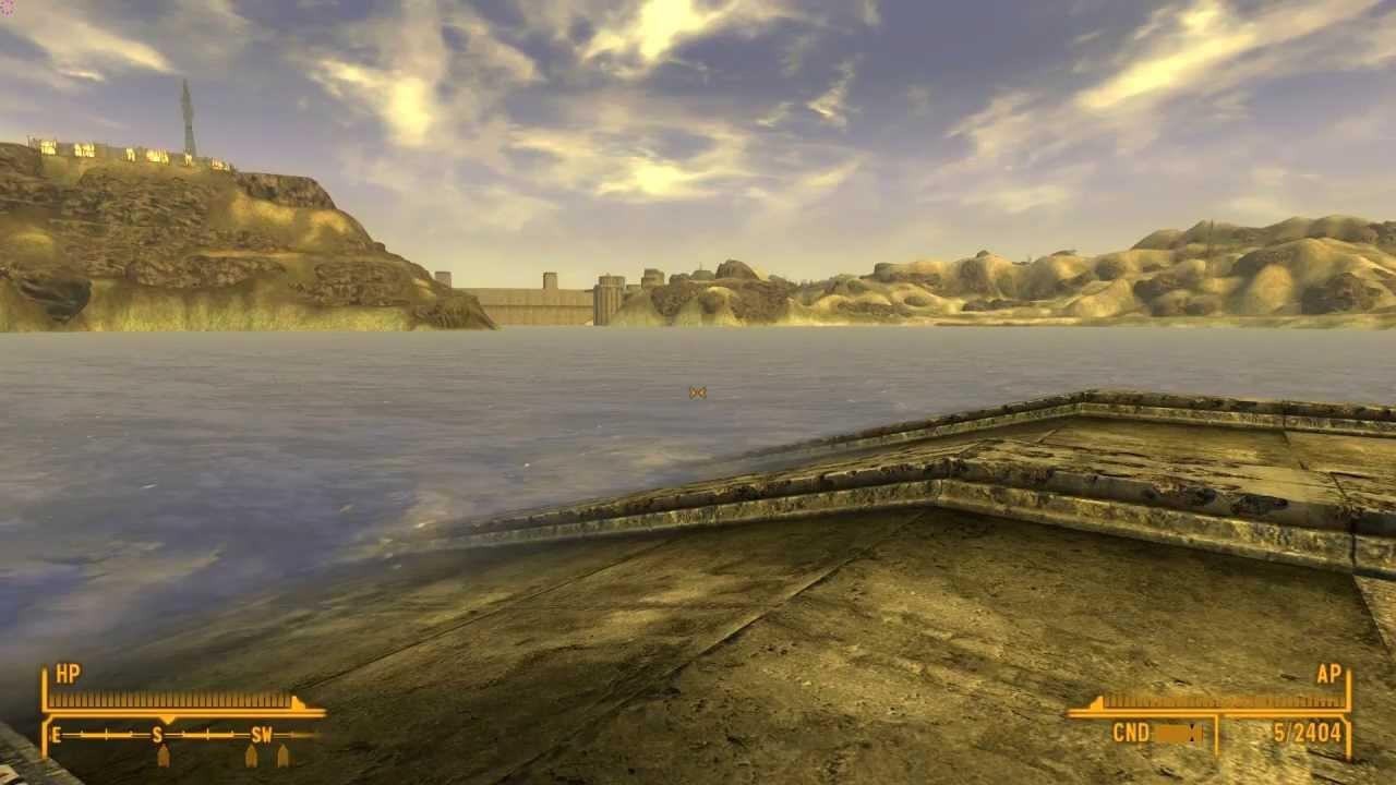 Fallout new vegas вода