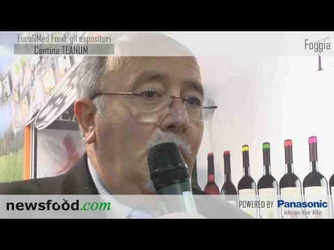 Euro&Med Food 2010: Cantina Teanum