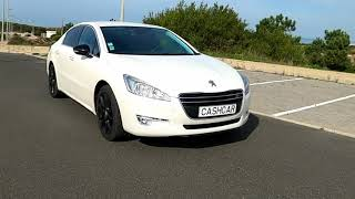 Vista lado direito Peugeot 508
