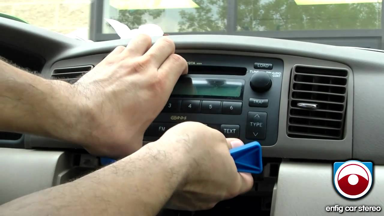 hight resolution of ipod or aux install 2005 2008 toyota corolla blitzsafe toy aux dmx v 2 youtube