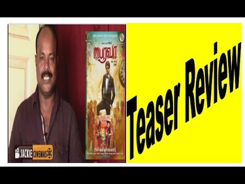 Bhairava Teaser Review by Jackiesekar in...