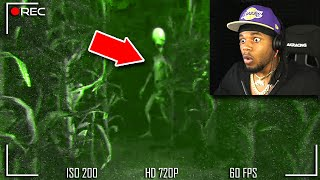 I FOUND AN ALIEN... *SCARY*