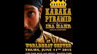 Kabaka Pyramid with Iba Mahr - Live! at WorldBeat Center