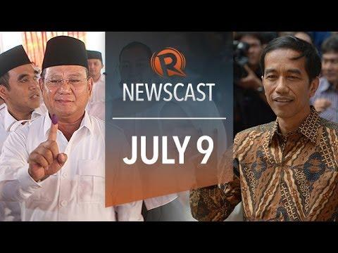 Rappler Newscast: Indonesian elections, Bong's witnesses, Germany beats Brazil