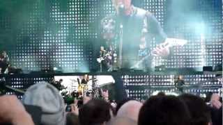 Metallica - Master Of Puppets @ Download Festival, Donnington, 9th June 2012
