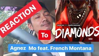 Reaction to Diamonds Agnez Mo feat. French Montana