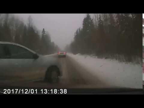Авария на трассе А-114 (Пикалёво)