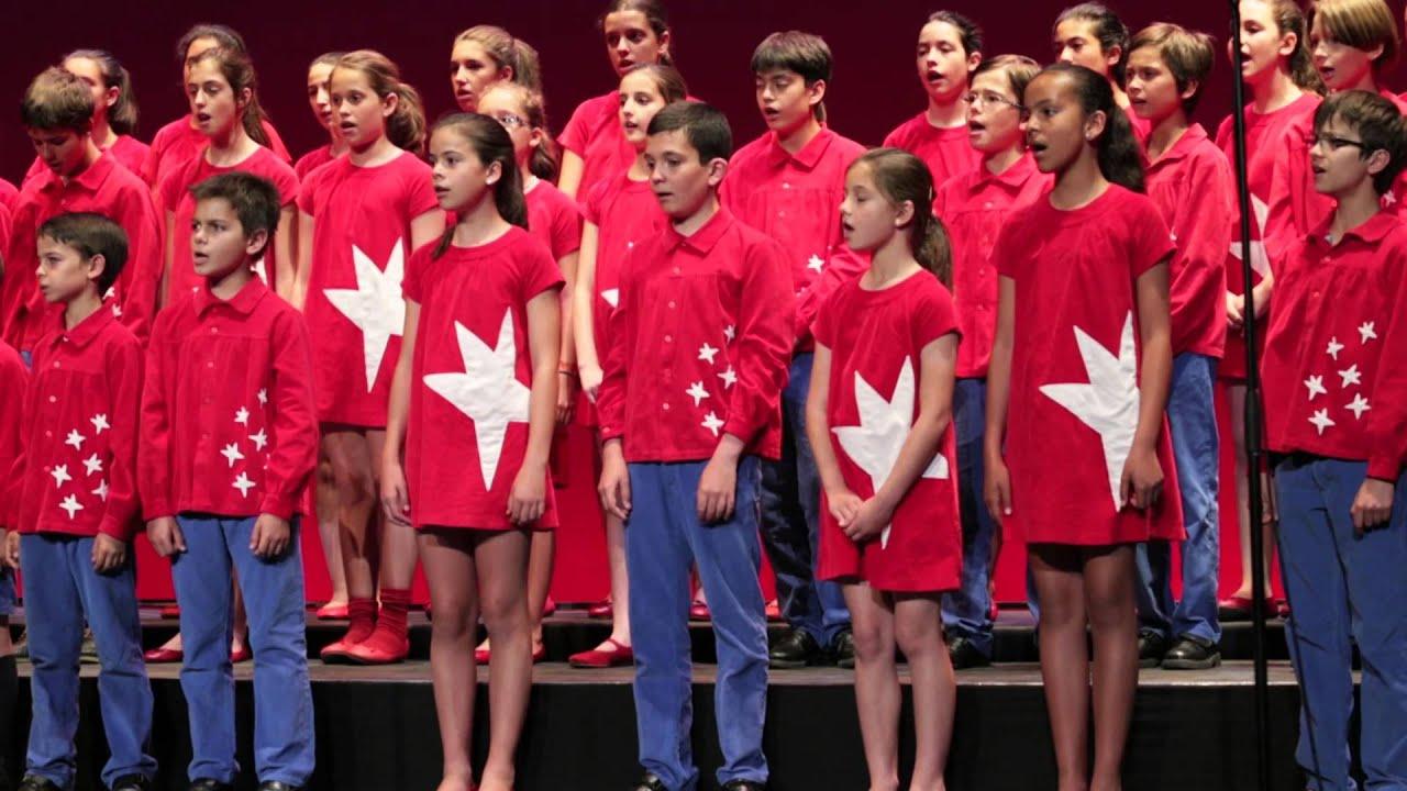 Coro de ni os de la comunidad de madrid repertorio de for Comunidad de madrid rea