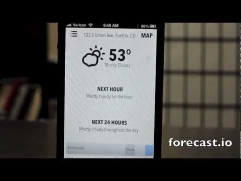CNET How To - Forecast.io is a beautiful weather app for any Web device