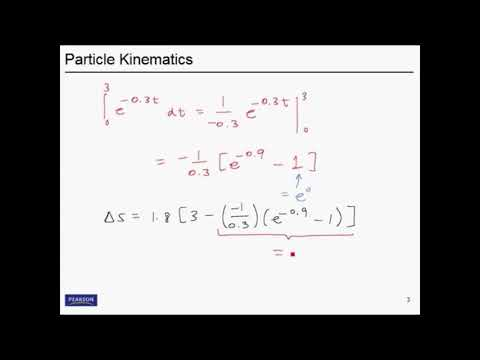 Chapter 12 - KINEMATICS OF A PARTICLE