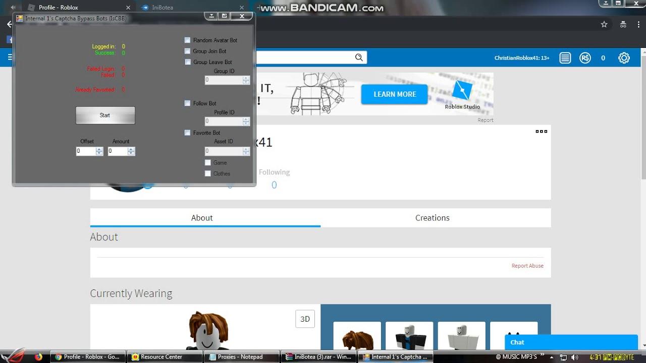 Roblox Followers Bot. - YouTube