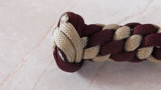 How To Tie A Four Strand Double Wall Knot