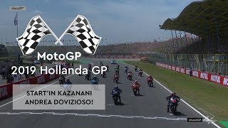 Start'ın Kazananı Dovizioso! (MotoGP 2019 - Hollanda Grand Prix)