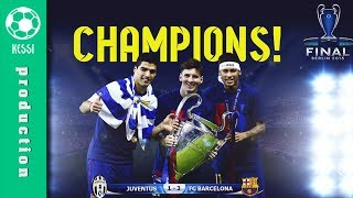 FC Barcelona - Road To Glory â—� BERLIN 2015 - Champions League