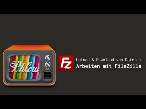 Filezilla -Anleitung: Dateien Hochladen Per FTP-Programm