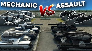 Tanki Online - Assault Drone vs Mechanic Drone - Which is the best?