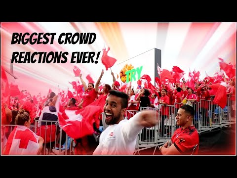 TONGA vs ENGLAND RLWC Highlights & Fans reactions LIVE