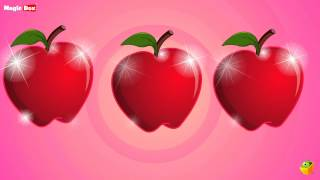An Apple A Day - English Nursery Rhymes - Cartoon/Animated Rhymes For Kids